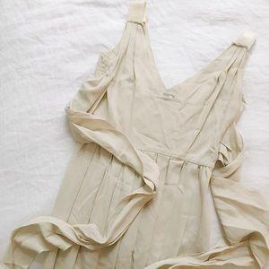 FINAL FLASH- Prada Grecian Crepe Dress
